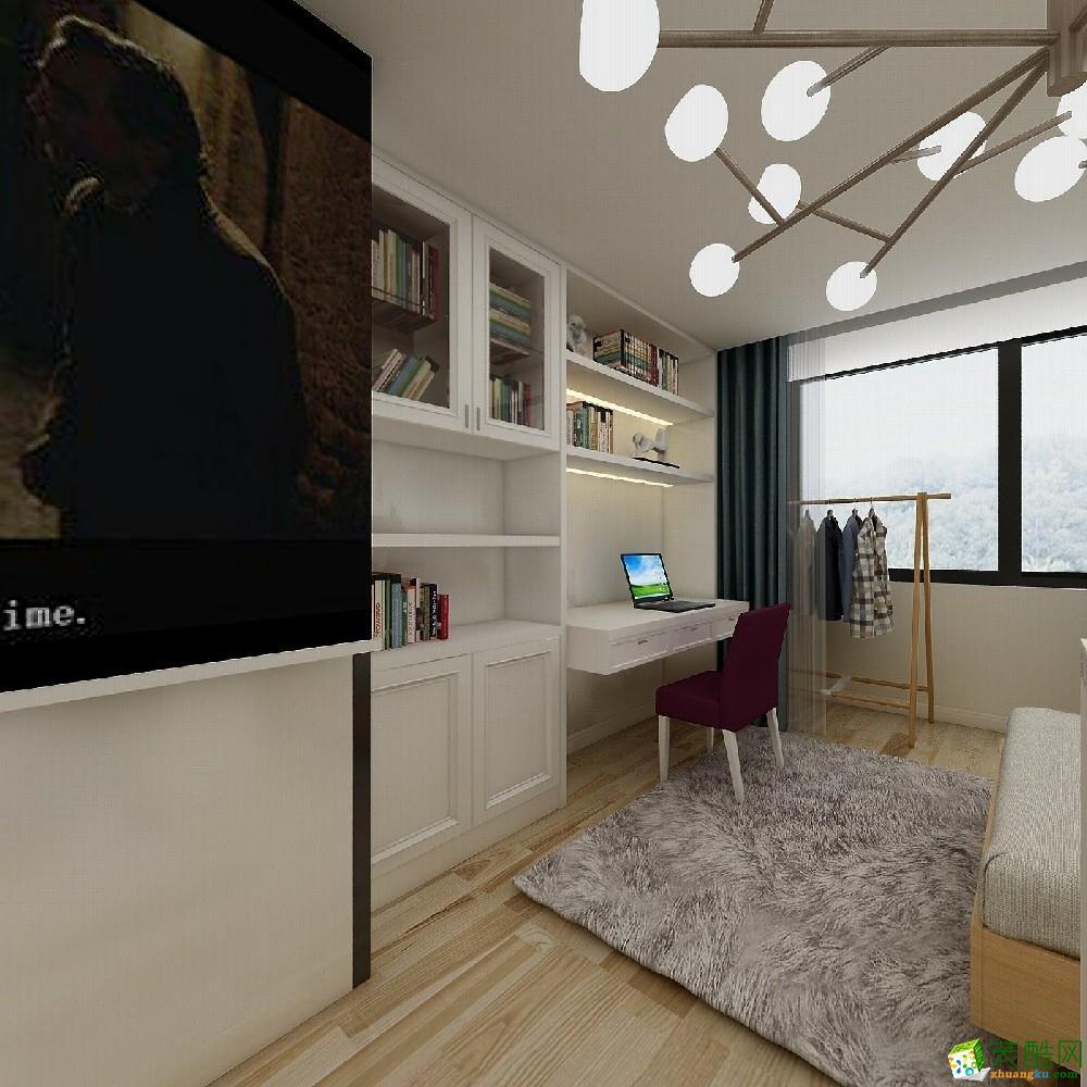 苏州40平舒适现代单身公寓设计案例