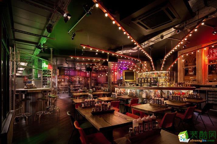 成都168平米混搭风格酒吧装修案例图片