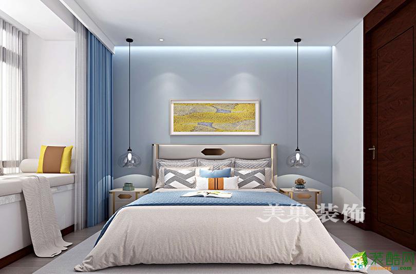 郑州名门紫园170平方四室两厅现代简约案例装修效果图