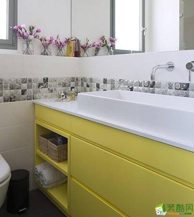济南70平米简约风格两室一厅一卫装修效果图