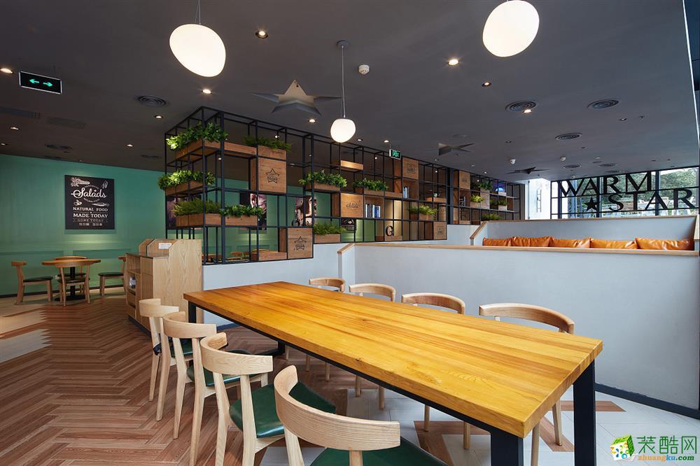 上海600平米牛排餐廳裝修案例圖片