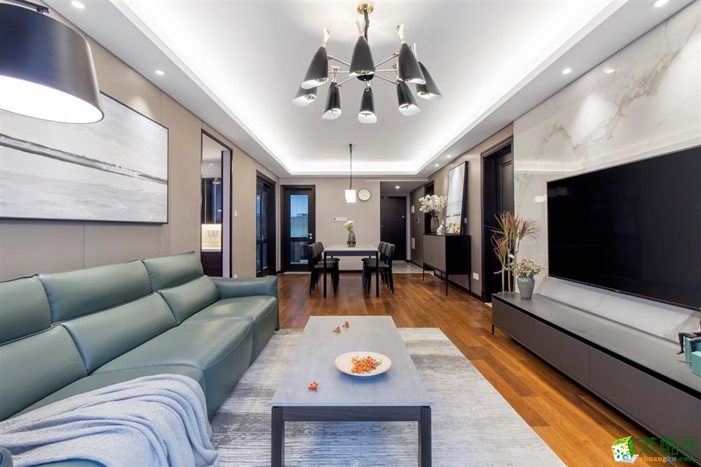 四室兩廳裝修-130平米,用現代演繹現世安穩!