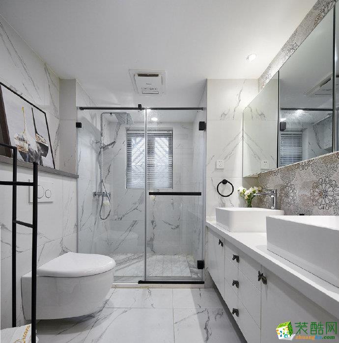 重庆70平米北欧风格两居室装修效果图