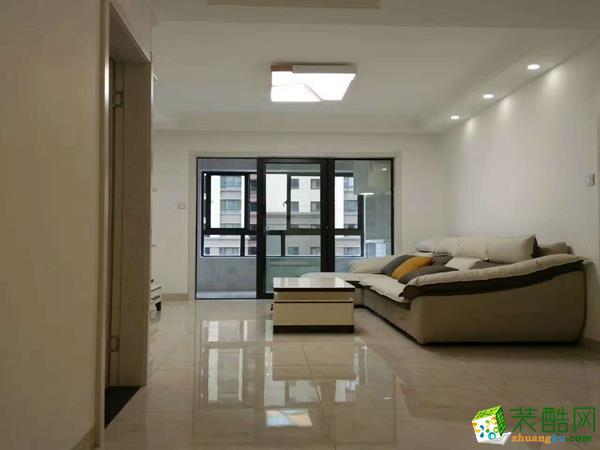 銅陵嘉華-華邦繁華里三室現代簡約風格裝飾