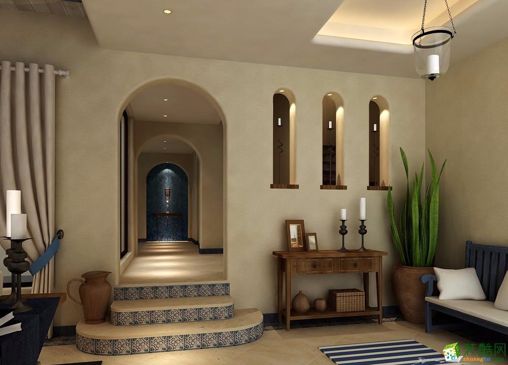 銅陵千萬澗-萬科陽光科技300平西班牙風格設計
