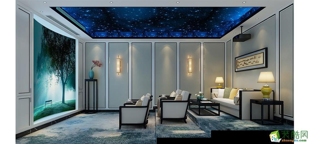 上海560平米新中式風格別墅裝修效果圖