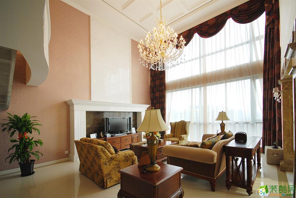 上海380平米欧式古典别墅装修效果图