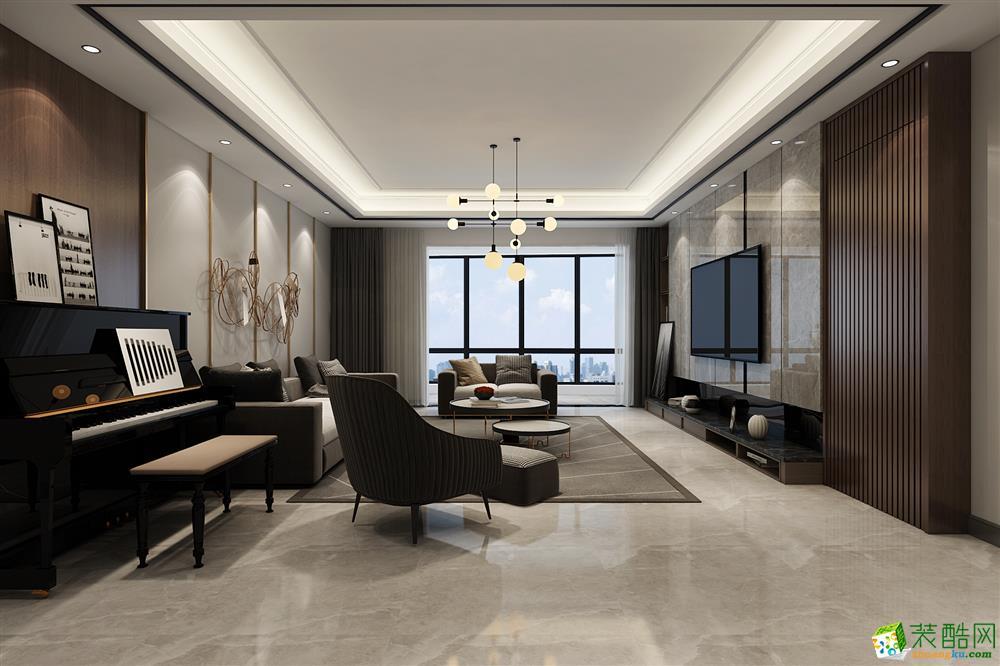 西安就掌燈183㎡ 三室現代風格裝修效果圖