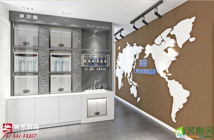 济南淄博健康科技展厅300平装修效果图