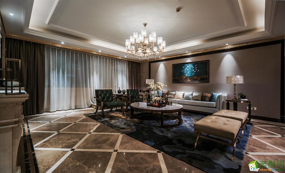 成都108平米混搭风格三居室装修效果图
