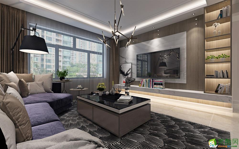 爱达九溪70平米两室一厅温馨风格设计案例