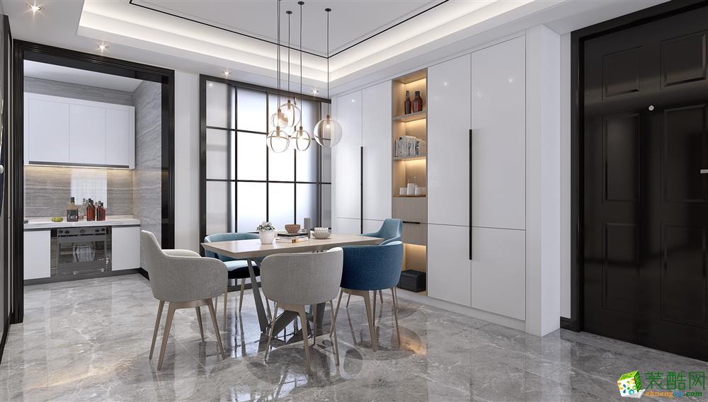 深圳140平米四居室现代轻奢风格装修效果图