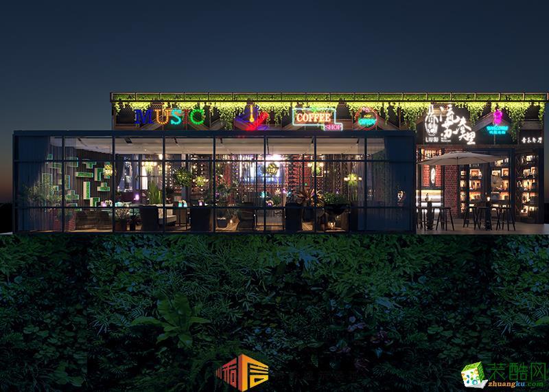 成都餐厅装修设计公司-流苏-春天里音乐餐厅