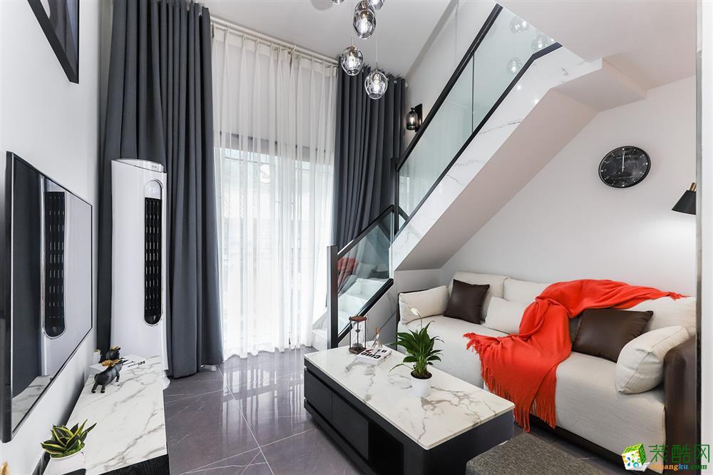 蘇州39平別具一格的小公寓設計案例