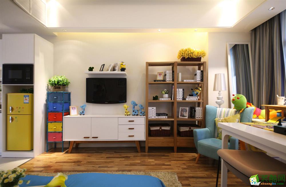 淖耀裝飾-26㎡小公寓看上去居然有40㎡!
