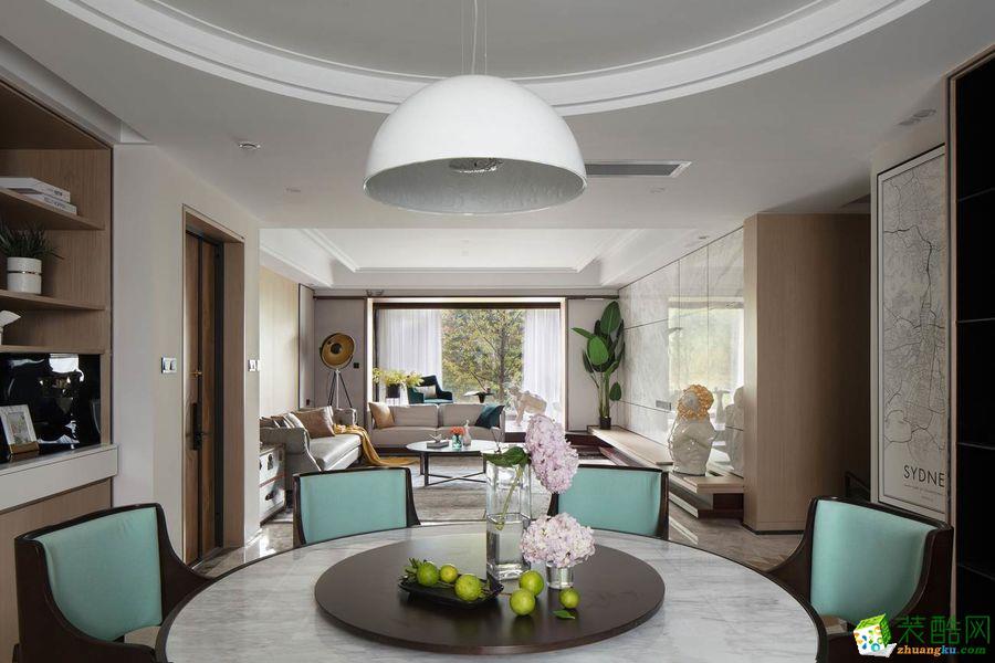 福州安家裝飾-149平現代四居室裝修效果圖_現代風格-四室兩廳兩衛