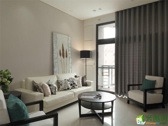 現代簡約三居室122平裝修效果圖