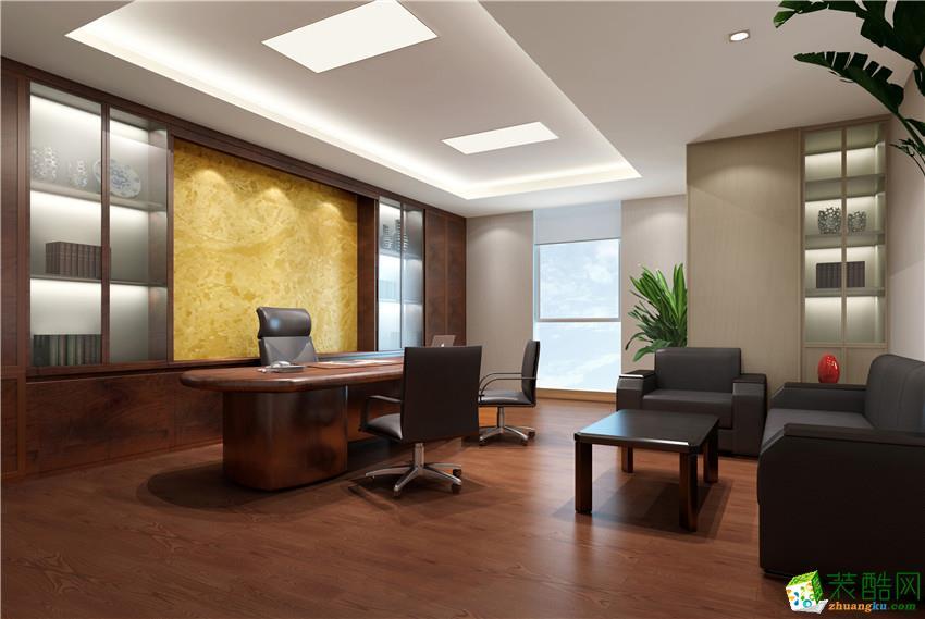 南宁2000平现代风格办公室装修效果图