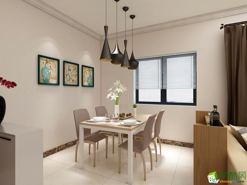 武隆景缔-86平米三居室现代简约风格