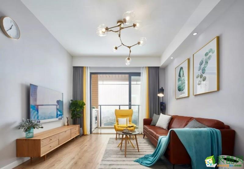 武汉 86㎡ 北欧风格 小三室 设计案例