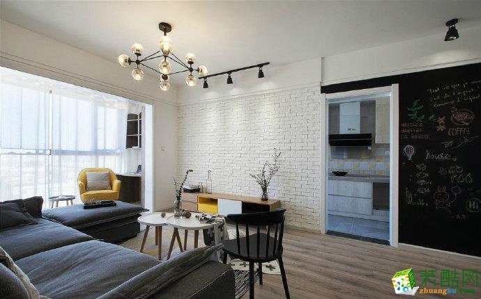 重慶100平米現代風格兩居室裝修效果圖