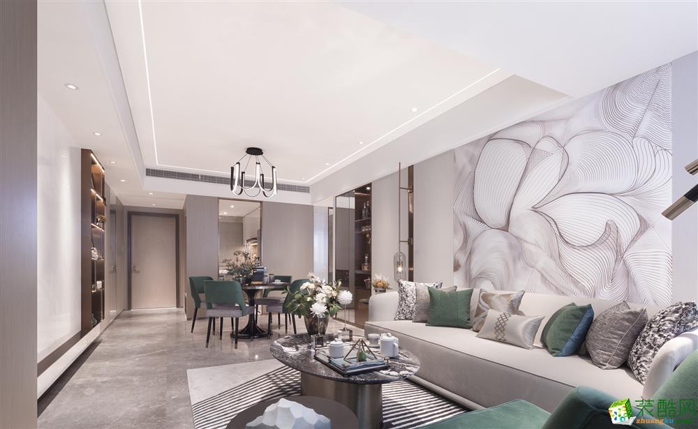 重庆210平米现代风格别墅装修案例