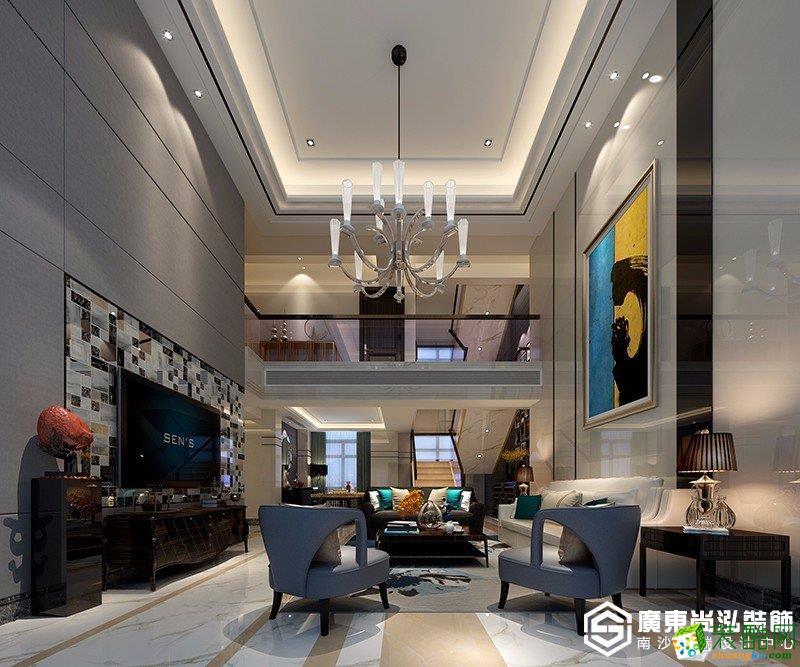 广州300平米现代风格别墅装修五分时时彩图