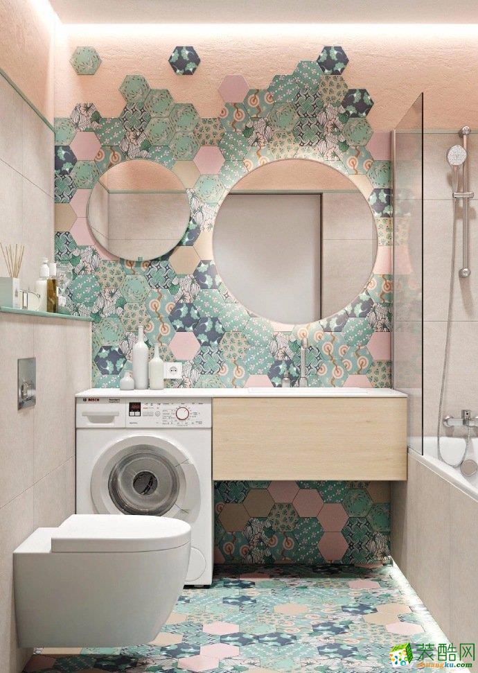 重慶100排名現代風格兩室一廳裝修案例