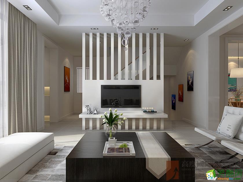 龙湖原山别墅280平米现代风格装修效果图