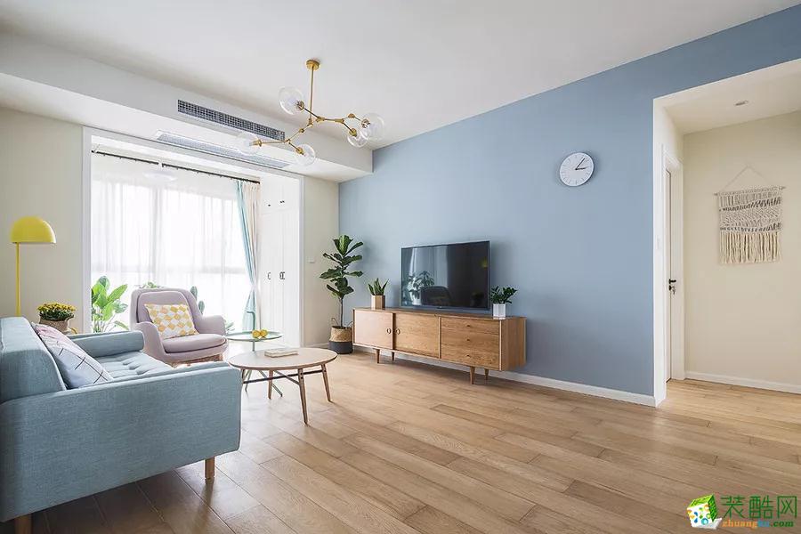 125簡約的北歐質感的家具清新的藍白色調