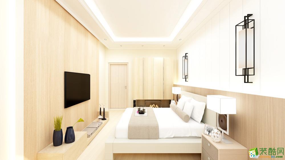 长沙128平米日式风格三室一厅一卫装修效果图片