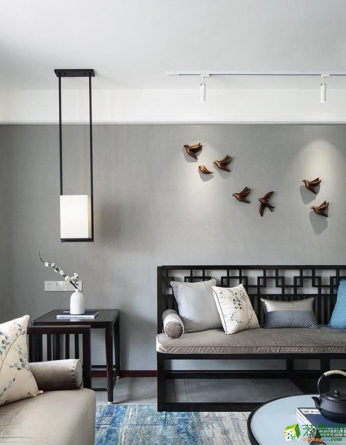 四室两厅装修价格-140平米现代风格装修案例图