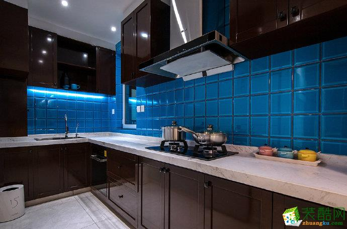 重慶105平米北歐風格兩室兩廳裝修案例