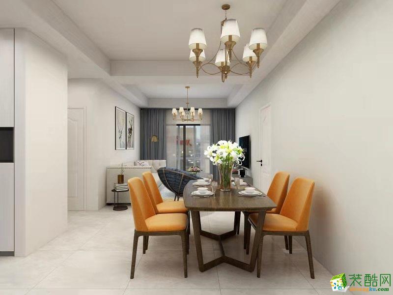 润元名著118�O三室一厅一卫简美风格装修设计效果图