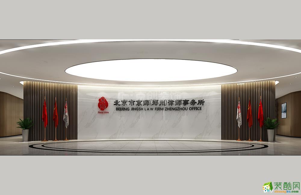 郑州1500平律师事务所办公室设计|京创装饰