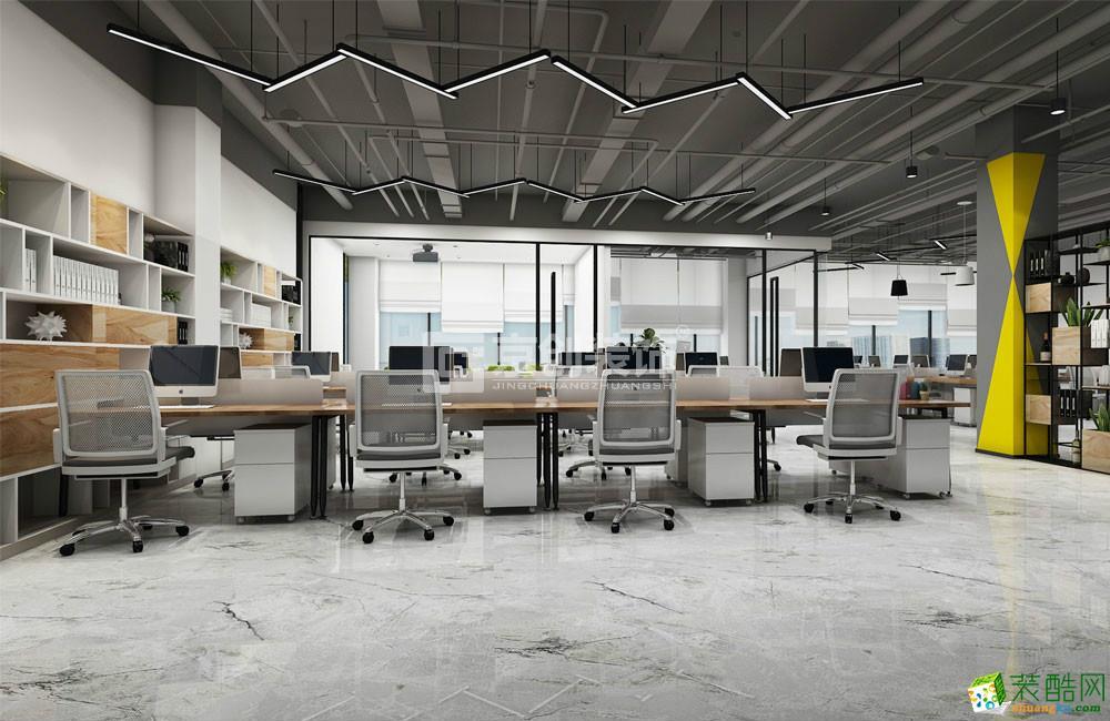 郑东产业园办公楼装修设计方案|京创装饰_现代风格-办公室