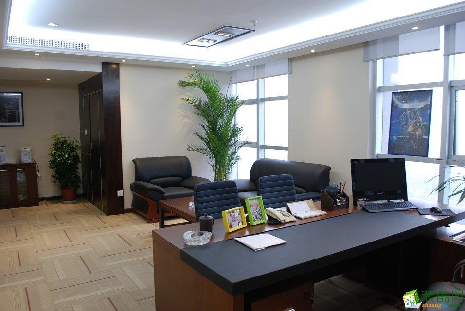 重庆260平米小型办公室装修案例图