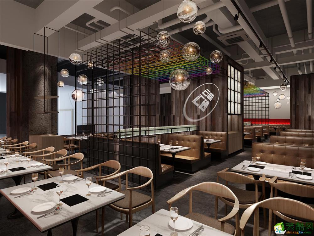 重庆300平米餐厅装修装修案例图片