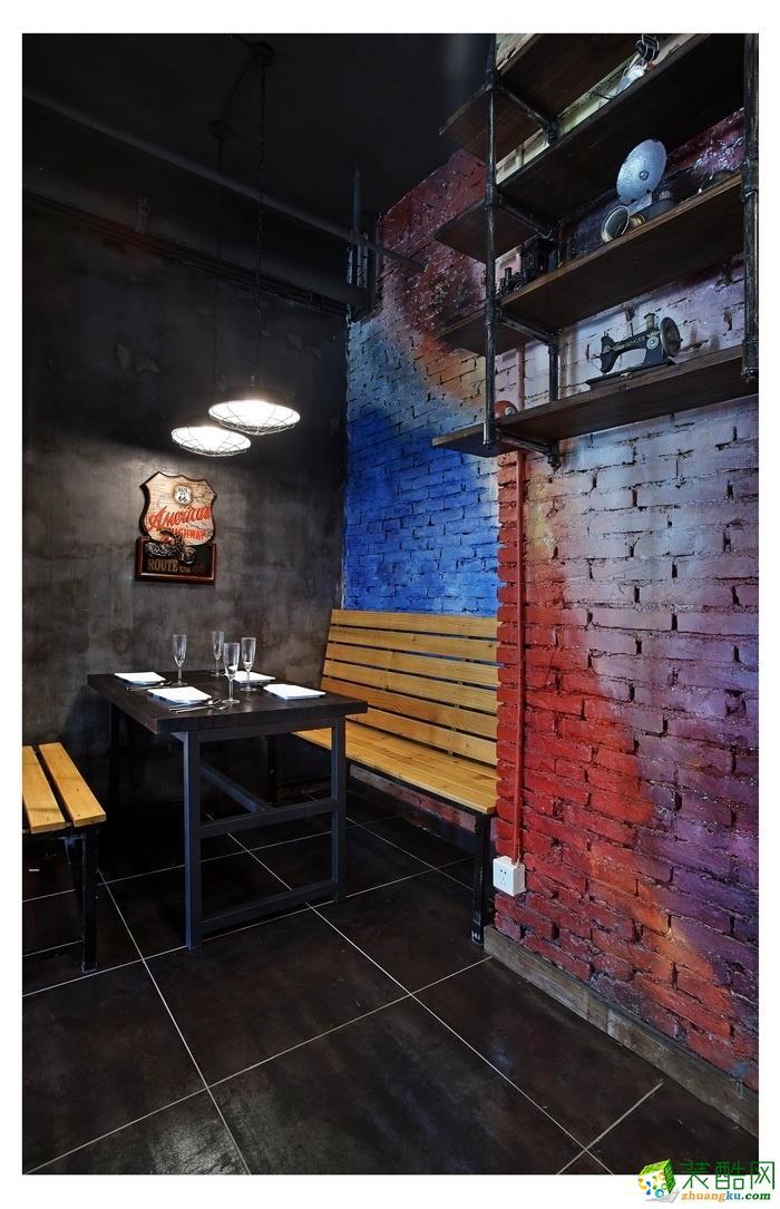 章丘200平米西餐厅装修效果图