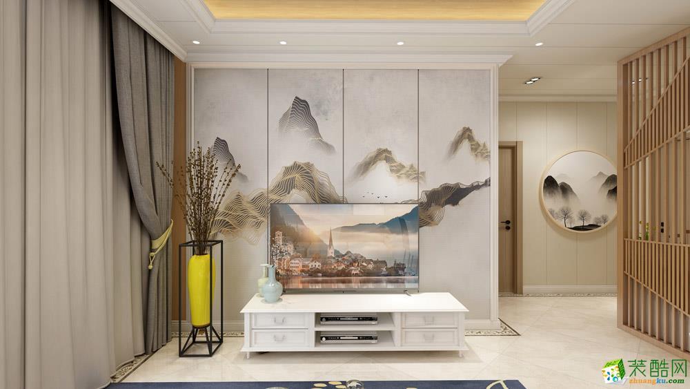 长沙52平米1室1厅1橱1卫日式风格效果图