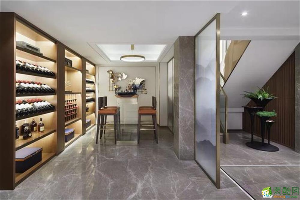 同济晶萃别墅项目装修设计案例