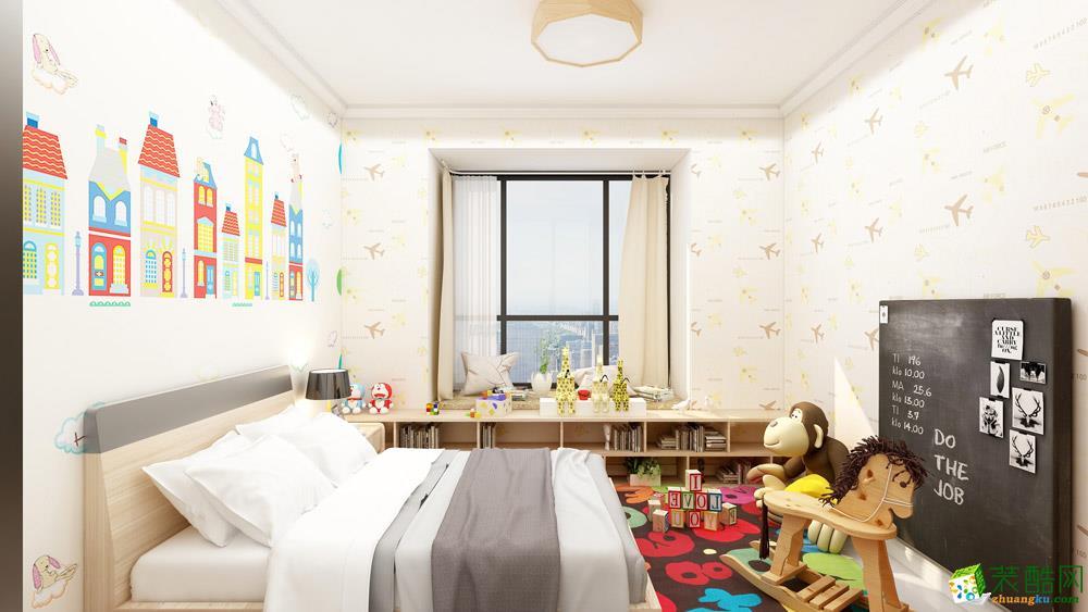 长沙117平米3室1厅1橱2卫日式效果图片
