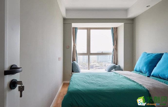 重庆95平米北欧风格三室一厅装修案例效果图