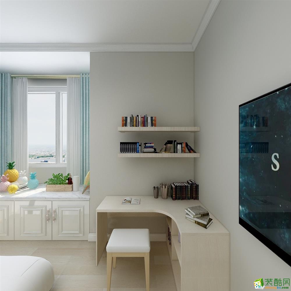 合肥137㎡北欧风格装修设计效果图