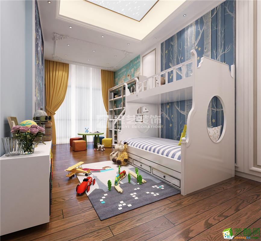 凤岭世家400平别墅欧式风格装修案例