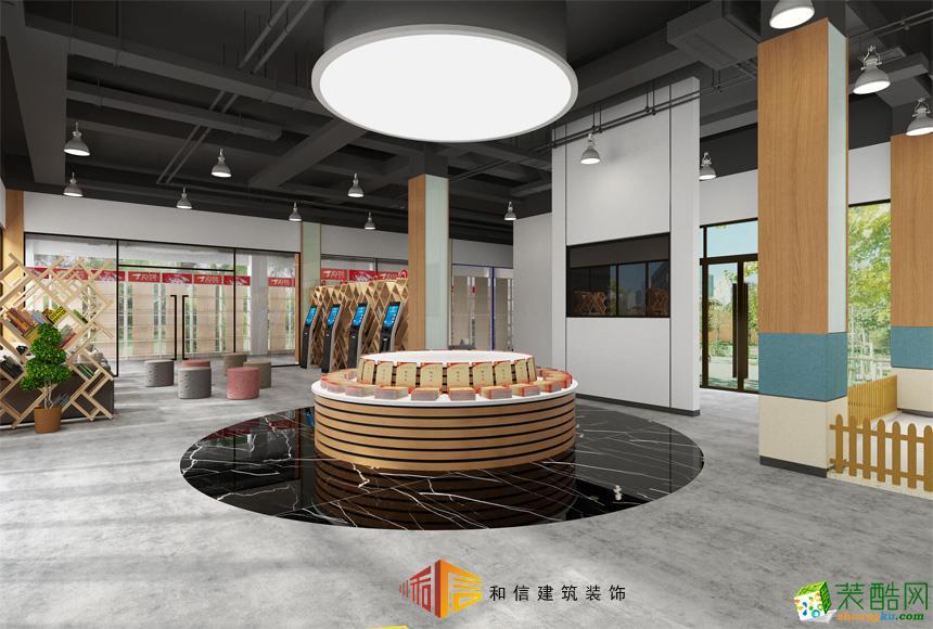 成都办公室装修设计公司-成都红光社区办公室