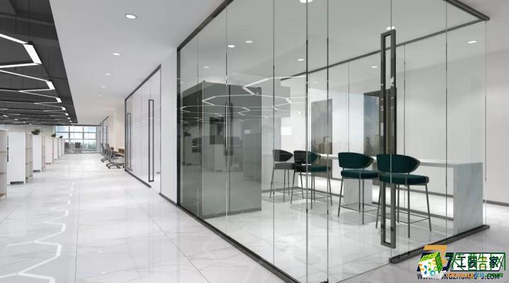 西安900平米现代简约办公室装修设计图