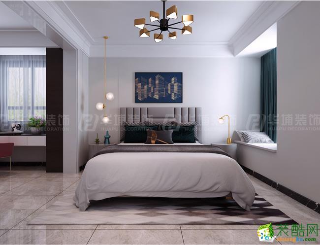 鄭州璀璨天城108平三室兩廳現代輕奢風格裝修案例