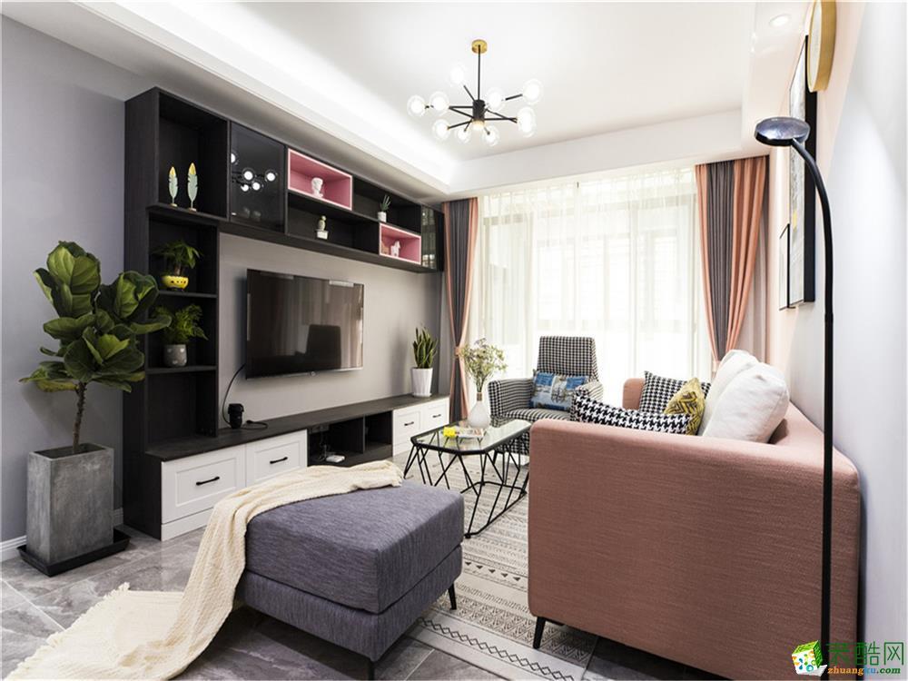 南充150平米現代風格四居室裝修效果圖