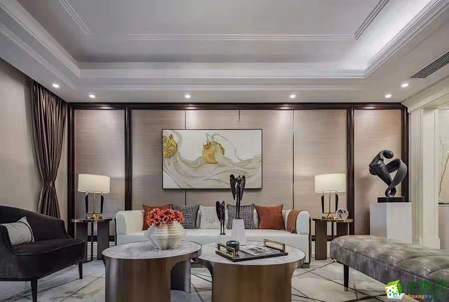 重慶140平米古典輕奢四室兩廳裝修效果圖